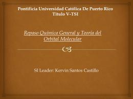 Pontificia Universidad Católica De Puerto Rico Titulo V-TSI