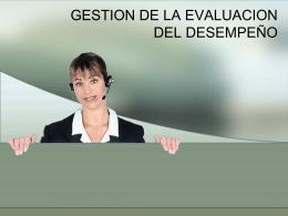 09 Evaluación de desempeño