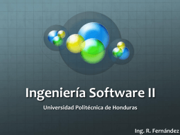 Ingeniería Software II