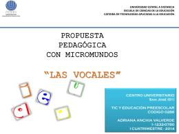 Plan Pedagógico