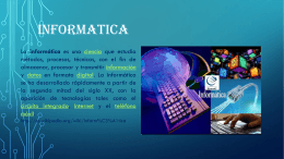 PRESENTACION POWER POINT INFORMATICA
