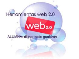 Herramientas web 2.0 - dihannagualdron