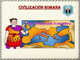 Historia - Civilización Romana