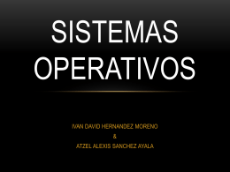SISTEMAS OPERATIVOS - Over-blog