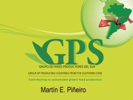 Descargar Presentación - GPS – Grupo de países productores del sur