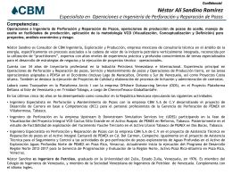 CV Nestor Sandino