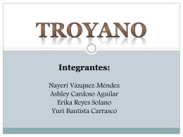 EXPOSICION EN EQUIPO.TROYANO