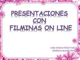 presentaciones con filminas on line