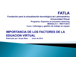 FEV-Plataformas_Luis Cordova - EducacionVirtual