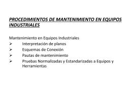 CLASES 20 DE AGOSTO 2014 - Montaje Electrico Industrial
