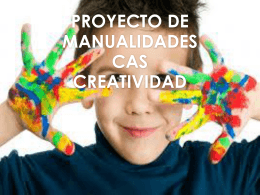 PROYECTO DE MANUALIDADES