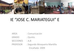 Diapositiva 1 - jcmariategui