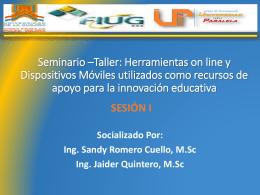 Presentación de PowerPoint - SeminarioTallerFaceya