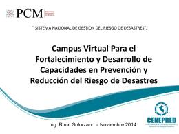 Campus Virtual Para el Fortalecimiento y Desarrollo de