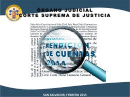 Presentación de PowerPoint - Corte Suprema de Justicia