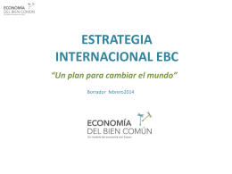 La Estrategia EBC - Amazon Web Services