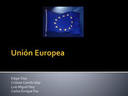 Generalidades UE-Colombia