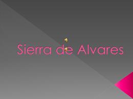 Sierra de Alvares
