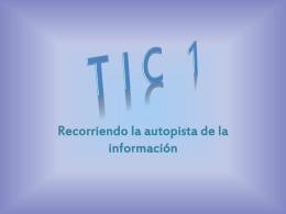 Producto Final Sandra de la Rosa - TIC-CB1