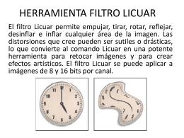 HERRAMIENTA FILTRO LICUAR