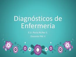Diagnósticos de Enfermería_1CLASE