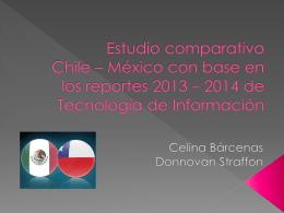 Estudio comparativo Chile * México de los reportes