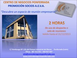 Promoción - Asociación de Empresarios de Valdeorras