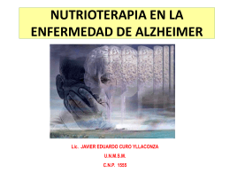 CLASE 5 ENFERMEDADES de alzheimer