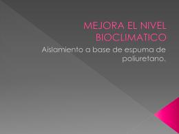 Casa bioclimatica-Angie y Camila