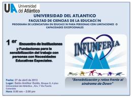 Invitaciòn - Universidad del Atlántico