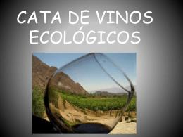CATA DE VINOS ECOLÓGICOS presentación