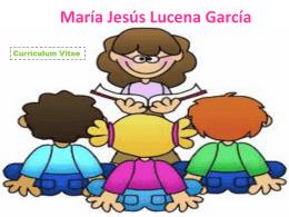 María Jesús Lucena García cv