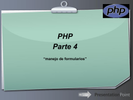 PHP parte 4