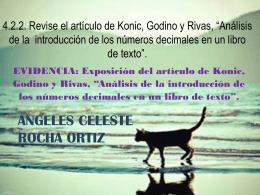 4.2.2. Revise el artículo de Konic, Godino y Rivas
