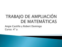 TRABAJO DE AMPLIACIÓN DE MATEMÁTICAS