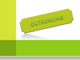 outsorcing - Direccionempresarial1