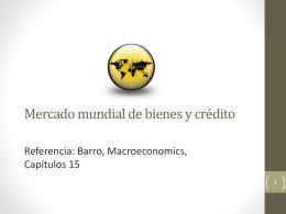 Mercado mundial de bienes y crédito, Tasa de cambio internacional