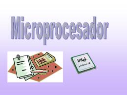 1) microprocesador
