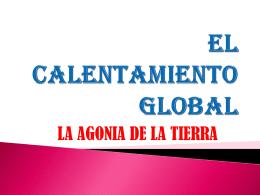 EL CALENTAMIENTO GLOBAL - SANDRAYAMILELEONGARCIA