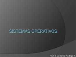 Sistemas Operativos - ContruyendoInfoEdu