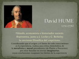 David HUME (1711