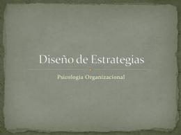 Diseño de Estrategias (3261395)