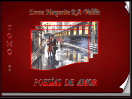 Poesías de amor, tomo I