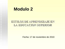 Elementos De Andragogía.