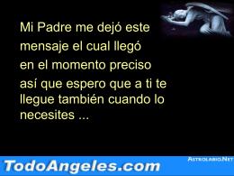 Titulo - angeles | arcangeles | TodoAngeles.com