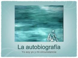 La autobiografía - Todo el lenguaje