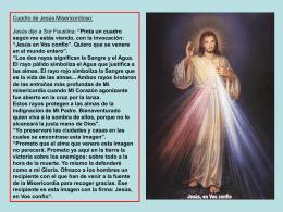 Imagen de Jesús Misericordioso