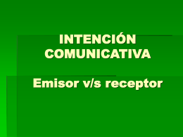 RELACIÓN EMISOR