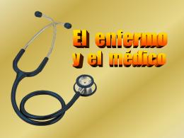 El enfermo y el médico - Archidiócesis de Madrid