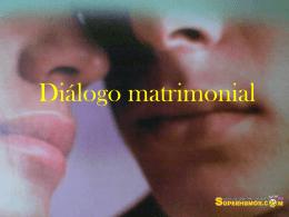 Diálogo matrimonial